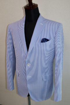 夏に最適コードレーンオーダージャケット|Fashion AT Men'sの画像