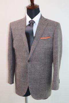 かすれ調の生地でおしゃれなジャケット|Fashion AT Men'sの画像