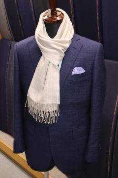 ゼニア紺のトラベラーでオーダージャケット|Fashion AT Men'sの画像