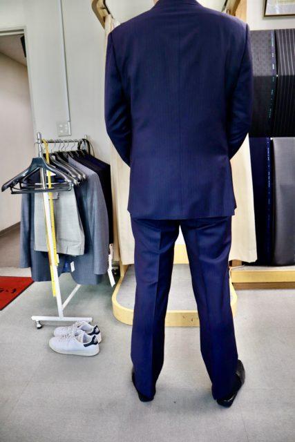 体に合っているスーツ