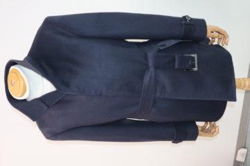 カシミア100%王道の紺無地でオーダーコート|Fashion AT Men'sの画像
