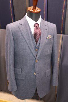 ドーメルイングリッシュフランネルスーツ|Fashion AT Men'sの画像