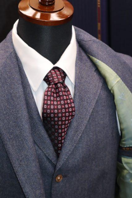 ドーメルイングリッシュフランネルスーツ