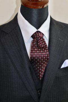 ゼニアエレクタの定番生地でオーダースーツ|Fashion AT Men'sの画像