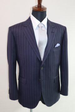 ゼニアエレクタ幅広ストライプスーツ Fashion AT Men'sの画像