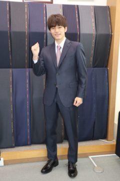 成人のお祝いとしてゼニアオーダースーツ Fashion AT Men'sの画像