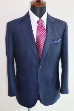春らしいロイヤルブルーのスキャバルスーツ|Fashion AT Men'sの画像