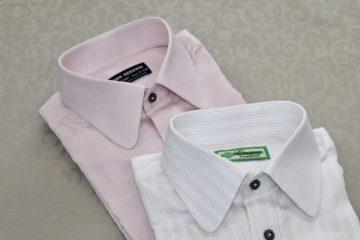 ラウンドカラーのオーダーシャツ|Fashion AT Men'sの画像