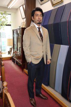 ゼニアカシミアビキューナジャケット Fashion AT Men'sの画像