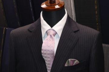 ドーメルダブルストライプのオーダースーツ|Fashion AT Men'sの画像