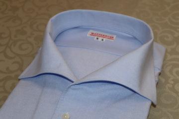 イタリアンカラーのオーダーシャツ|Fashion AT Men'sの画像