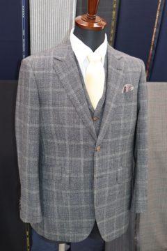トニックウールで3ピーススーツ Fashion AT Men'sの画像