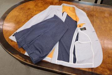 ダブルフェイスのジャージースーツ|Fashion AT Men'sの画像