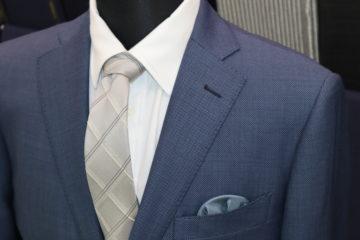 ゼニアトラベラーのバーズアイでスーツ|Fashion AT Men'sの画像