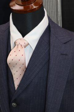 ドーメルで3ピースオーダースーツ|Fashion AT Men'sの画像