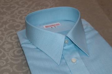ティファニーブルーのシャツ|Fashion AT Men'sの画像