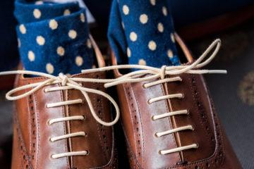 見栄えが変わる! 革靴の靴ひもの結び方!の画像