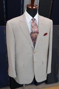 ゼニアクロスプレイでオーダースーツ|Fashion AT Men'sの画像