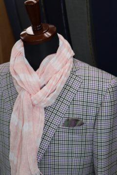 光沢感のあるドーシルクオーダージャケット|Fashion AT Men'sの画像