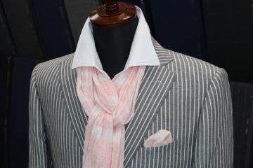 ゼニアクロスプレイで夏らしいスーツ|Fashion AT Men'sの画像
