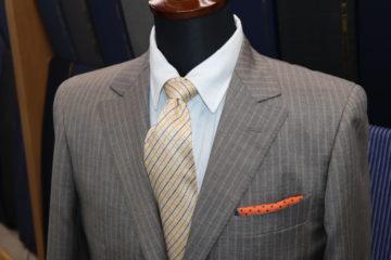 スキャバルモヘアシルクでオーダースーツ|Fashion AT Men'sの画像