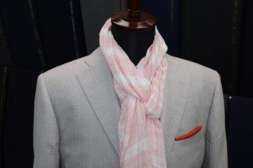 シルク100%のオーダージャケット|Fashion AT Men'sの画像
