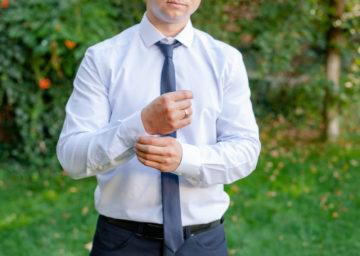 涼しげに見える!夏用のネクタイの選び方!の画像