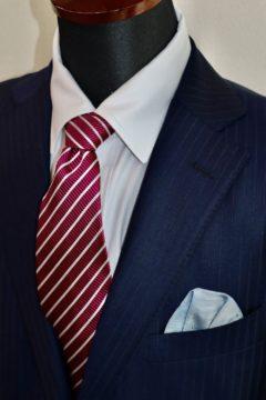 光沢感のあるゼニアエレクタスーツ|Fashion AT Men'sの画像