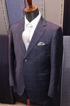 ドーメルエクセルでアンコンオーダースーツ|Fashion AT Men'sの画像