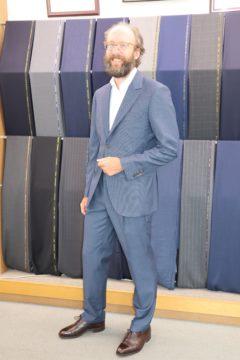 転職を機にゼニアのオーダースーツ|Fashion AT Men'sの画像